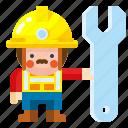 labour, man, professional, repairman, worker icon
