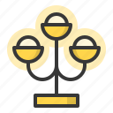 lamp, lamplight, lantern, light, torch icon