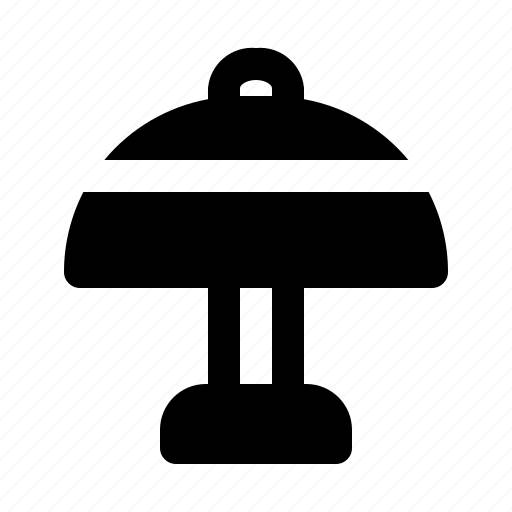 furniture, lamp, lamps, light, table icon