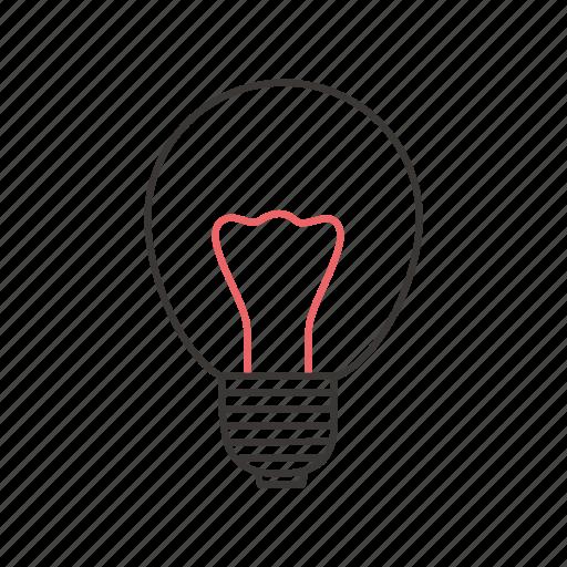 electric, incandescent lamp, incandescent light bulb, lamp, light, lightning icon
