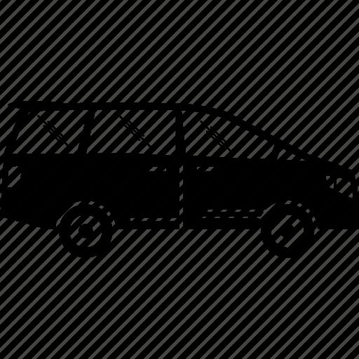 car, family, mpv, seaters, seven, van icon
