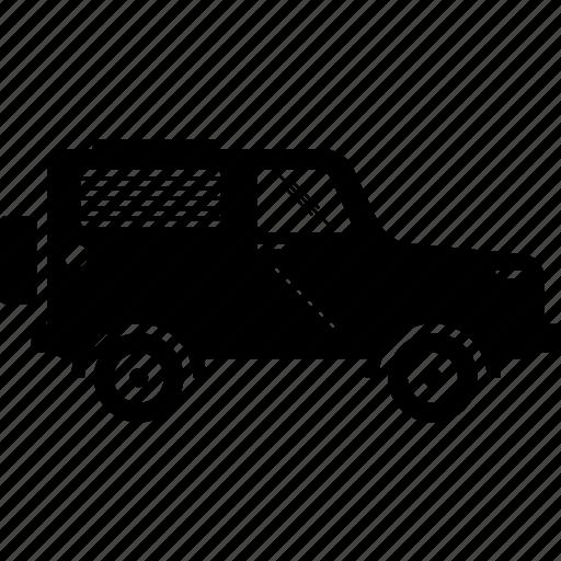 adventure, car, four wheel drive, jeep icon