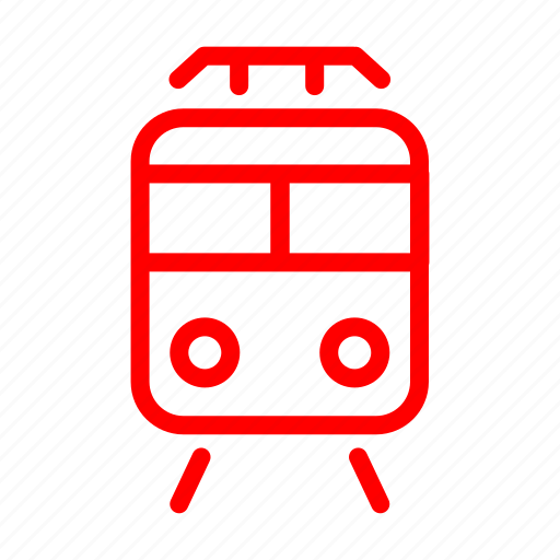 rail, train, tram, travel icon