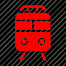 metro, rail, train, tram icon