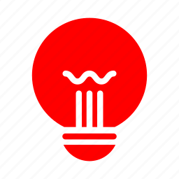 battery, electric, idea, lamp, light, lighting icon