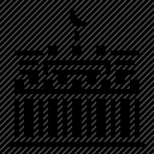 Brandenburg, building, gate, landmark icon - Download on Iconfinder