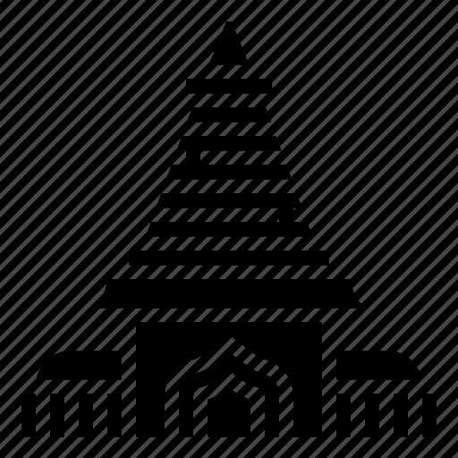 building, doi, landmark, suthep, thai icon