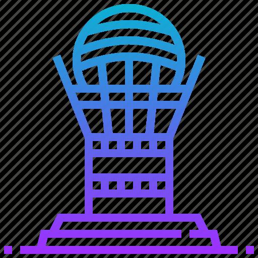 astana, bayterek, building, landmark, tower icon