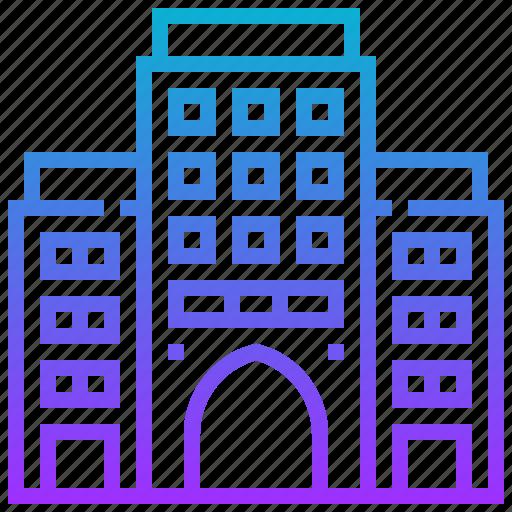 building, landmark, museum, national, omen icon