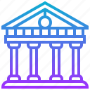 building, landmark, pantheon, temple icon