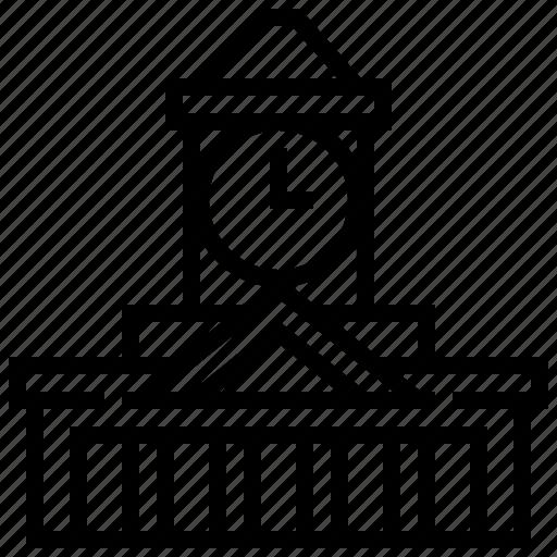 brisbane, building, city, hall, landmark icon