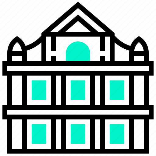 building, cathedral, landmark, macau, paul icon