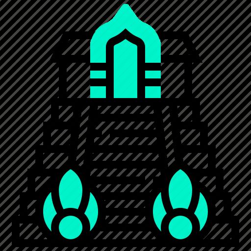 building, chedi, landmark, luang, wat icon