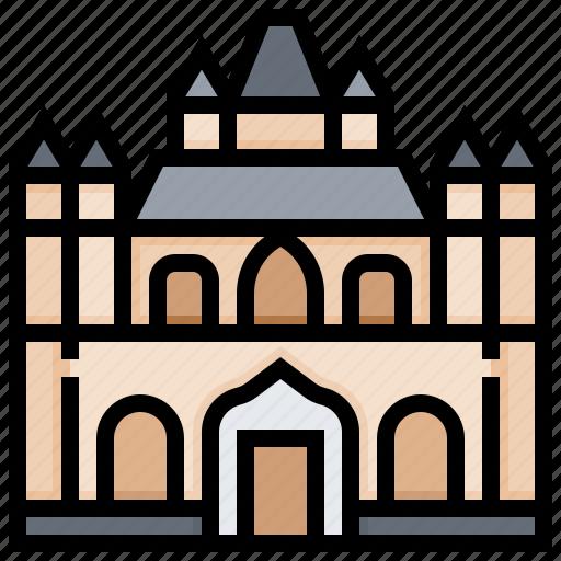 building, burgos, cathedral, landmark icon