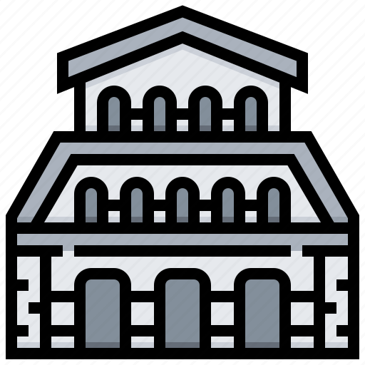 building, cattedrale, di, landmark, pisa icon
