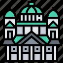 building, enate, helsinki, landmark, square icon