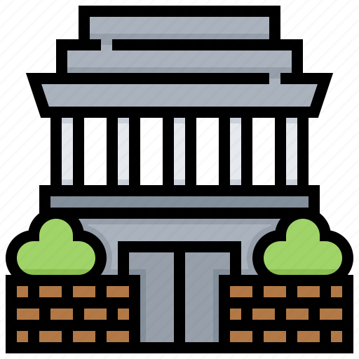 building, hochiminh, landmark, manusoleum icon