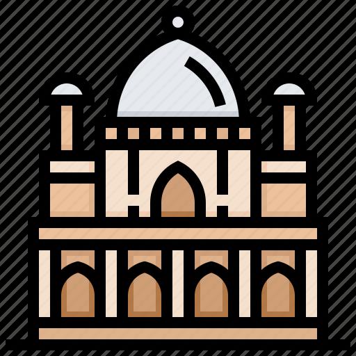 building, humayun, landmark, tomb icon