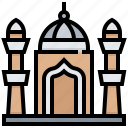 building, jama, landmark, masjid icon