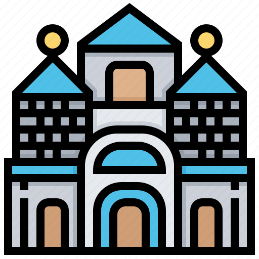 building, city, khabarovsk, landmark icon