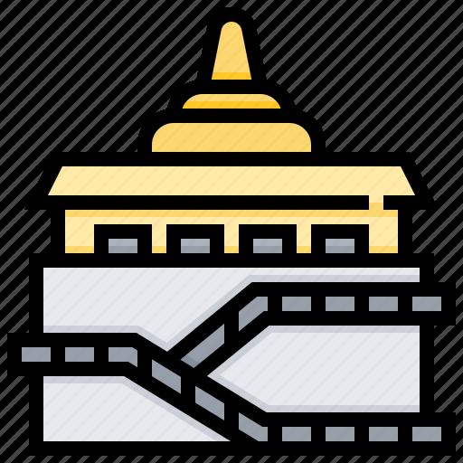 Building, landmark, saket, wat icon - Download on Iconfinder