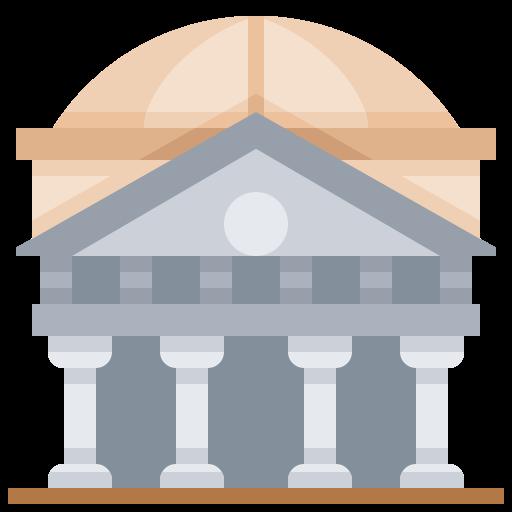 Building, italy, landmark, pantheon icon - Free download