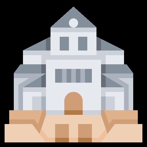 building, cathedral, landmark, vaduz icon