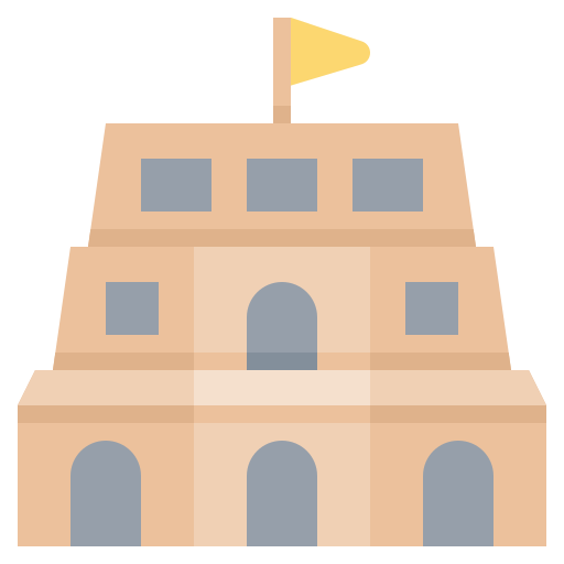 Building, gediminas, landmark, vilnius icon - Free download