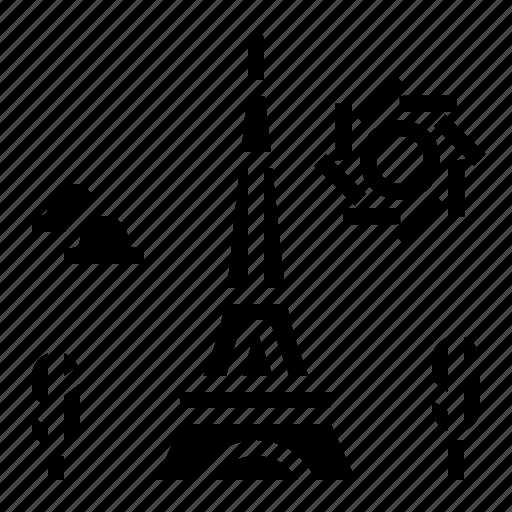 Eiffel, france, landmark, tower, travel icon - Download on Iconfinder