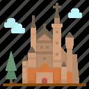 castle, europe, germany, landmark, neuschwanstein icon