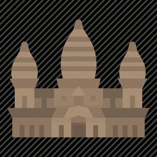 angkor, architecr, cambodia, landmark, wature icon