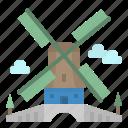 ecologic, energy, eolical, netherlands, windmill icon
