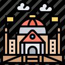 building, empire, german, historic, reichstag