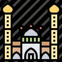 culture, india, jama, masjid, mosque icon