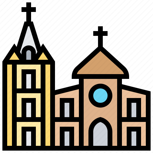 Architecture, cathedral, christchurch, new, zealand icon - Download on Iconfinder