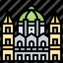 architecture, building, capitol, hungarian, parliament