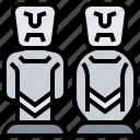ahu, easter, island, moai, tongariki