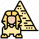 ancient, egypt, giza, pyramid, sphinx