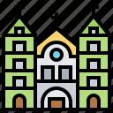 basilica, cathedral, notredame, saigon, vietnam