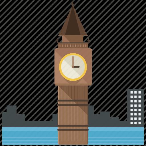 ben, big, britian, england, landmarks icon