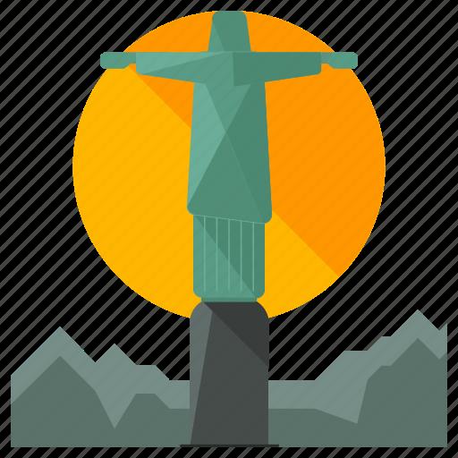 brazil, christ, corcovado, landmarks, religion, rio icon