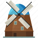 dutch, energy, holland, landmark, netherlands, windmill icon