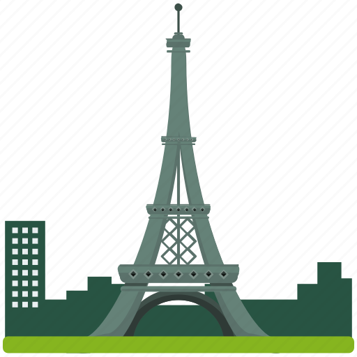 architecture, eiffel, france, landmarks, tower icon