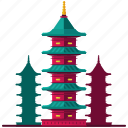 architecture, asian, buildings, japanese, landmarks icon