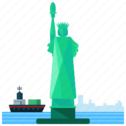 america, lady, landmarks, librety, new york icon