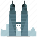 city, landmark, landmarks, skyscraper, tower, towers icon