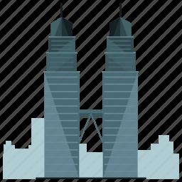 city, landmark, landmarks, skyscraper, tower, towers icon