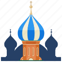 basils, cathedral, landmarks, religion, russia, st icon