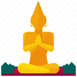 buddha, great, landmark, landmarks, religion icon