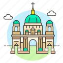 national, germany, berlin, architecture, cathedral, landmarks, monument, building icon